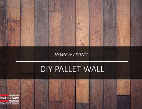 Create A Rustic Pallet Wall
