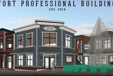 LEASED! Fort Professional Building – 23160 96 Ave Fort Langley BC