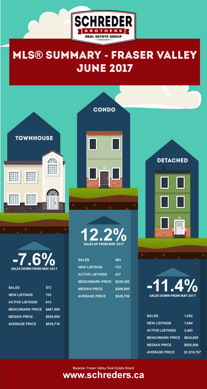 Schreder-Brothers-Real-Estate-The-Fraser-Valley-Real-Estate-Board-Report-Infographic-june-2017