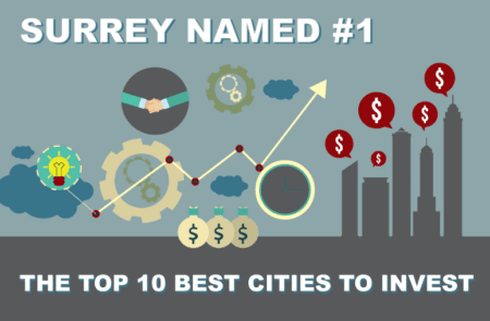 Surrey Named One of The Top 10 Best City to Invest
