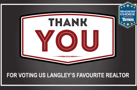 Langley Times Reader's Choice Favourite Realtor 2018